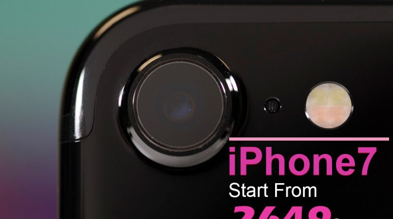iPhone 7 dramatically improves the most important aspects of the iPhone experience. It introduces advanced new camera systems.